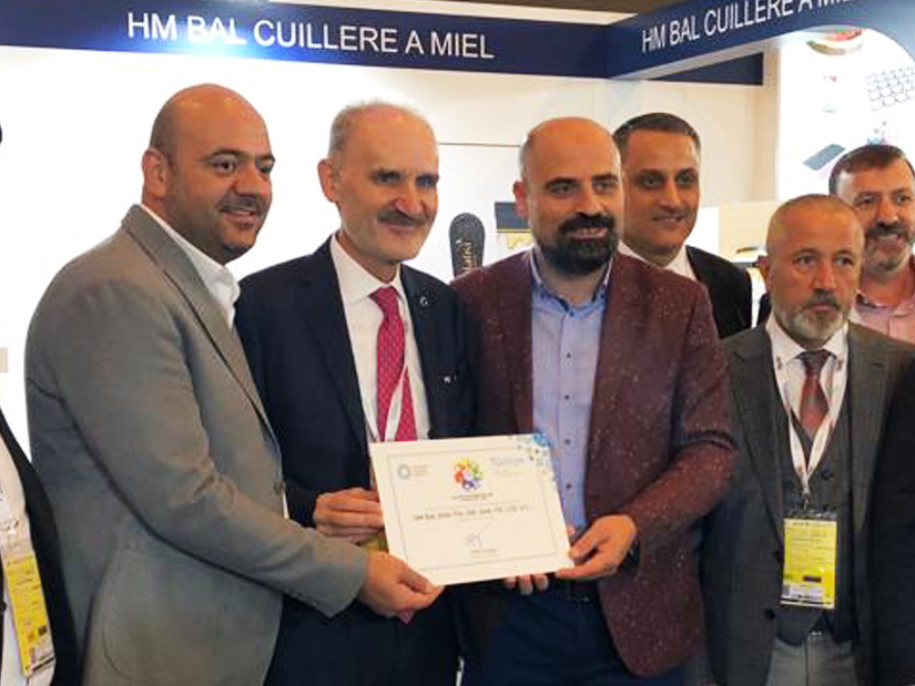 FULL SUPPORT FROM ISTANBUL CHAMBER OF COMMERCE AT PARIS FAIR